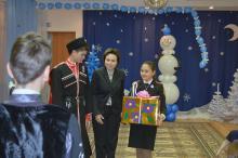 Праздничное мероприятие от учащихся МБОУ «СОКШ №4»